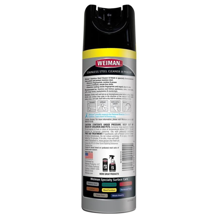 Weiman Products Ss Cleaner Polish 17 Oz In The Stainless Steel Cleaners Department At Lowes Com