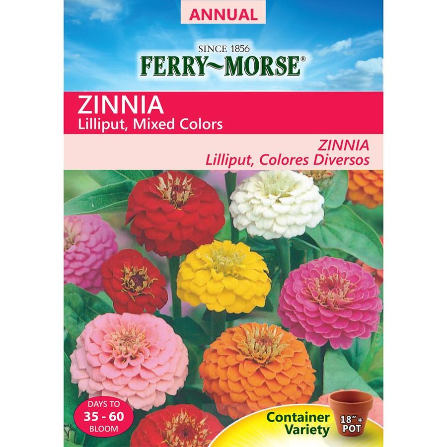Ferry-Morse 700-Milligrams Zinnia Seeds (L0000)