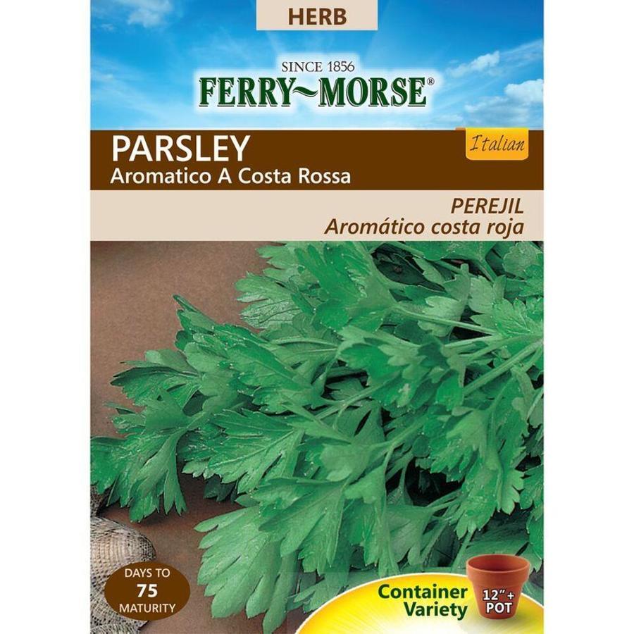 Ferry-Morse 500-mg Parsley Aromatico A Costa Rossa (L0000)