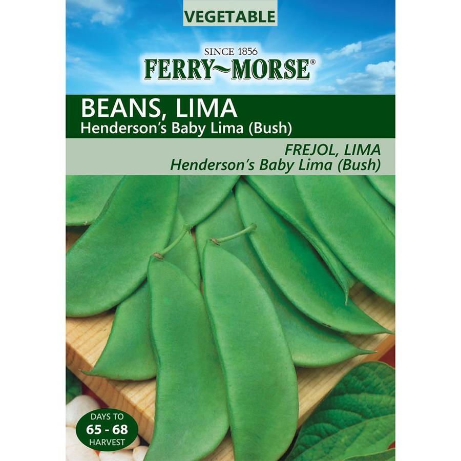 Ferry-Morse 28-Grams Beans Lima Henderson's Baby (Bush) (L0000)