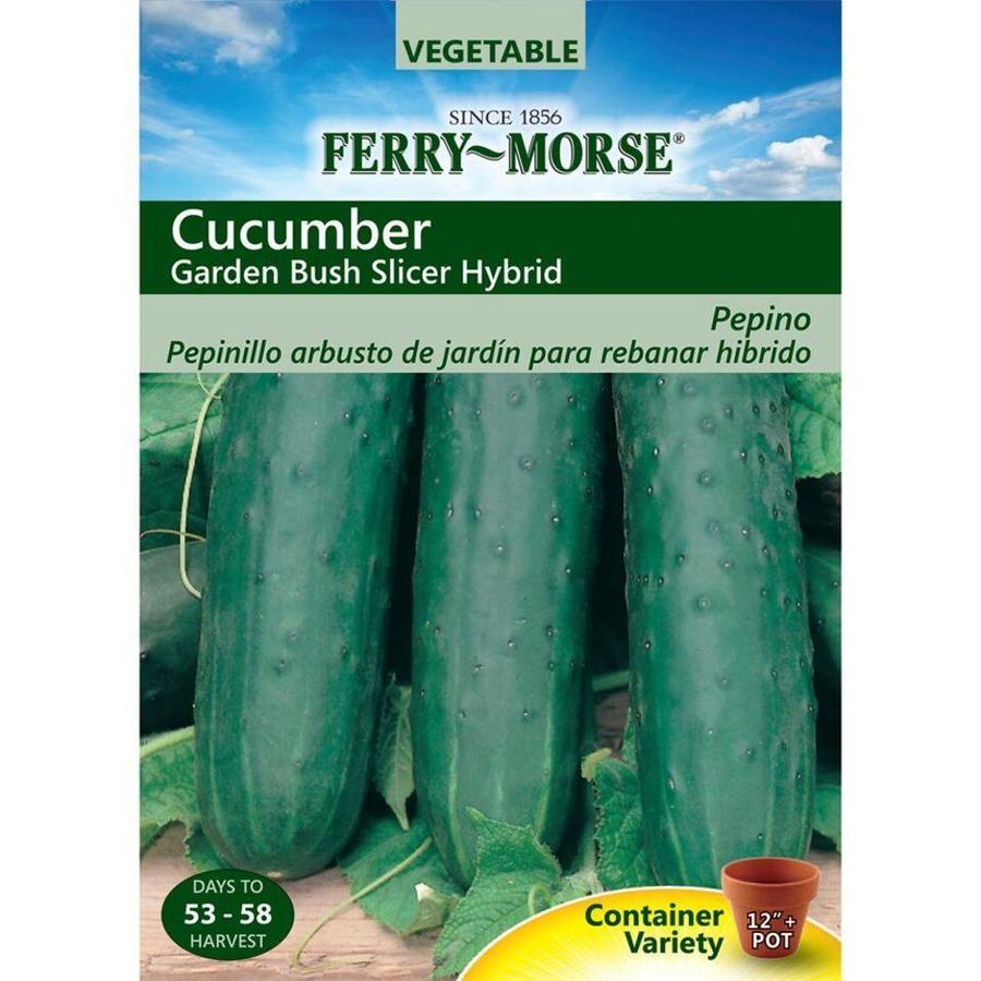 Ferry-Morse Cucumber Garden Bush Slicer Hybrid