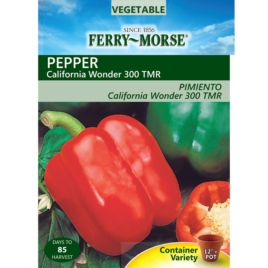 Ferry-Morse 900-mg Pepper California Wonder 300 Tmr (L0000)