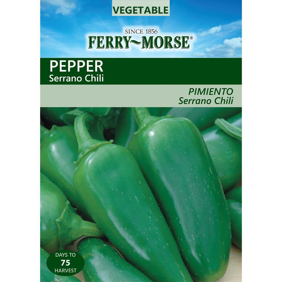 Ferry-Morse 650-mg Pepper Serrano Chili (L0000)