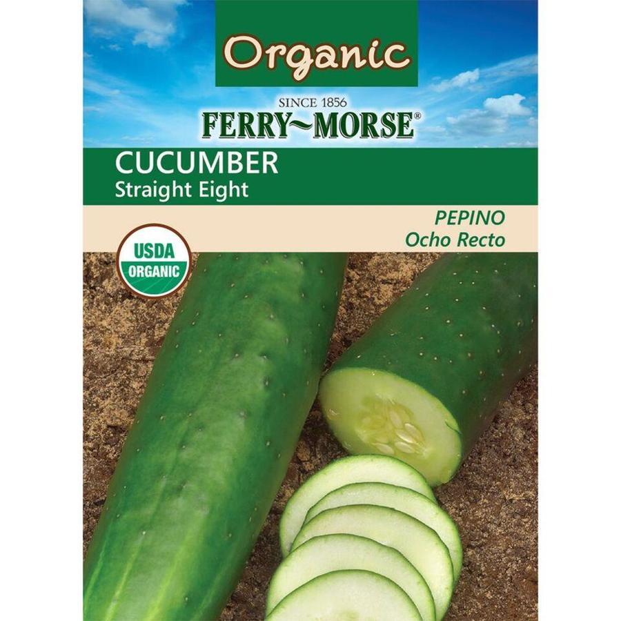 Ferry-Morse Organic Cucumber Straight Eight