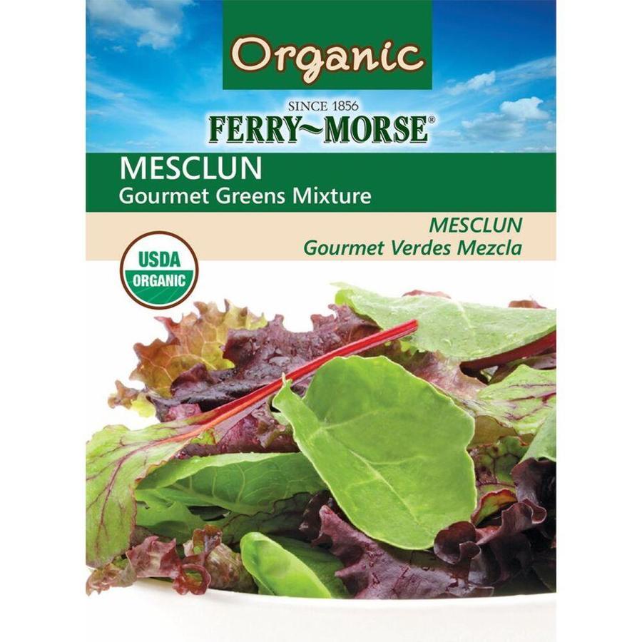 Ferry-Morse Organic Mesclun Gourmet Greens Mixture