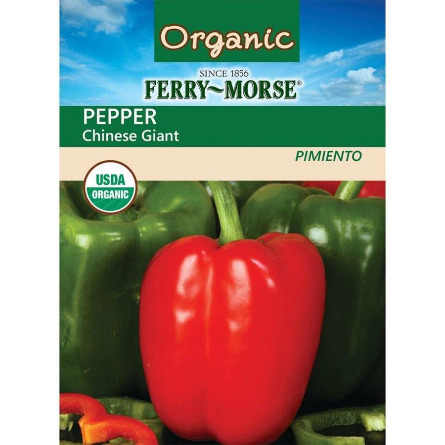 Ferry-Morse 600-mg Organic Pepper Chinese Giant (L0000)