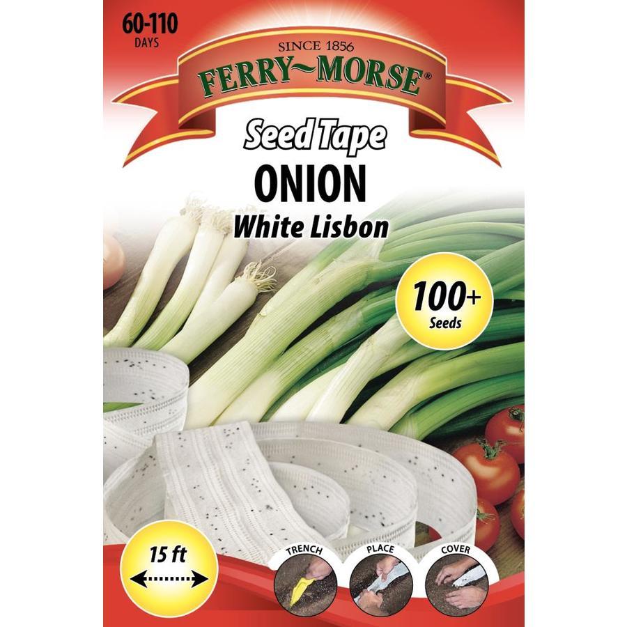 Ferry-Morse Seed Tape Onion White Lisbon