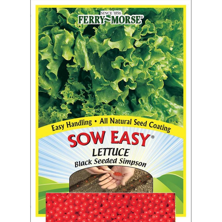 Ferry-Morse Sow Easy Lettuce Black Seeded Simpson