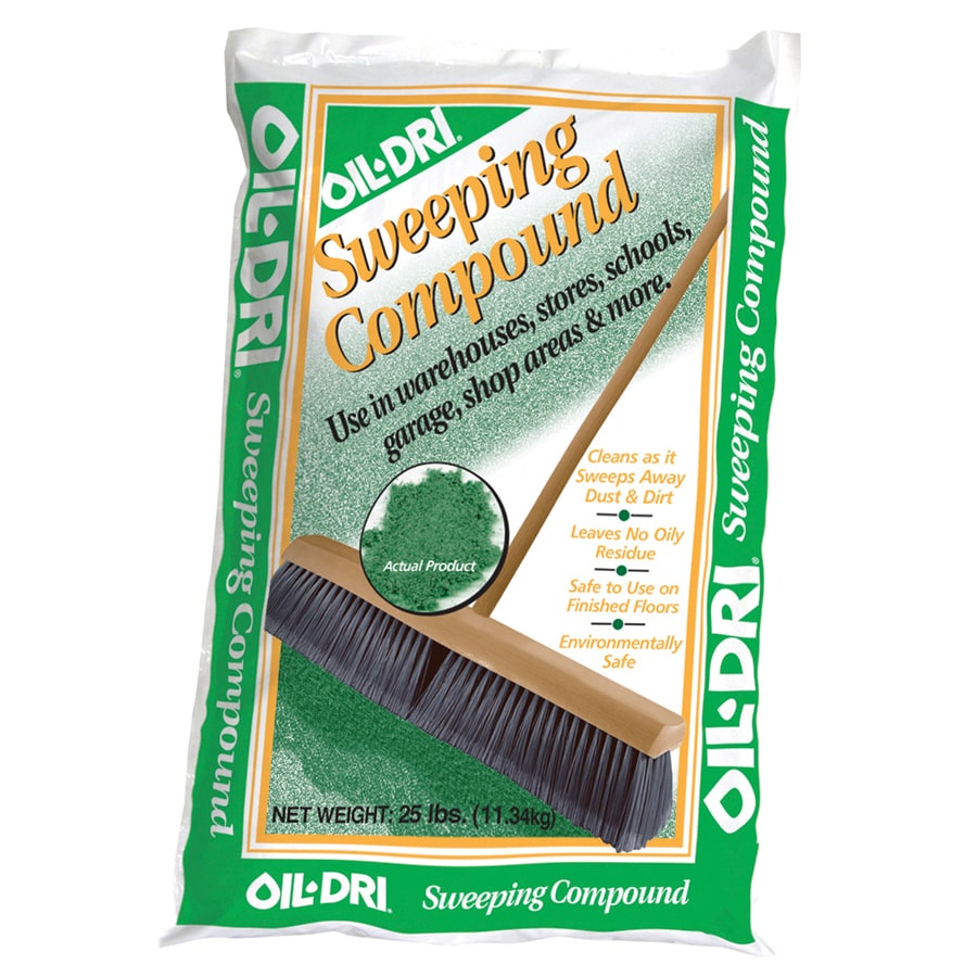 Oil-Dri 25-lb Floor Sweeping Compound
