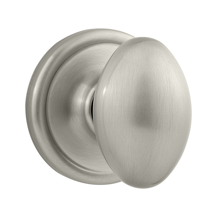 Kwikset Signature Laurel Satin Nickel Egg Passage Door Knob