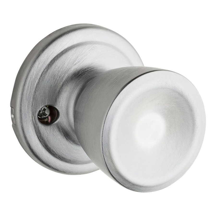 Kwikset Signature Abbey Satin Chrome Dummy Door Knob