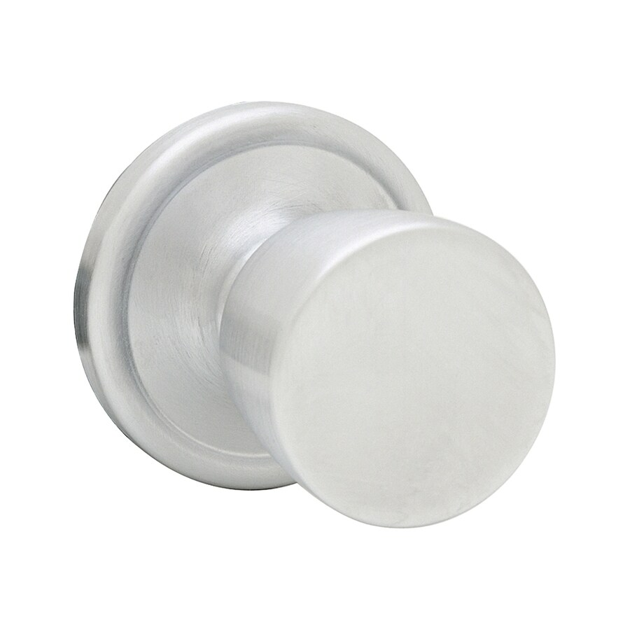 Kwikset Signature Abbey Satin Chrome Round Passage Door Knob