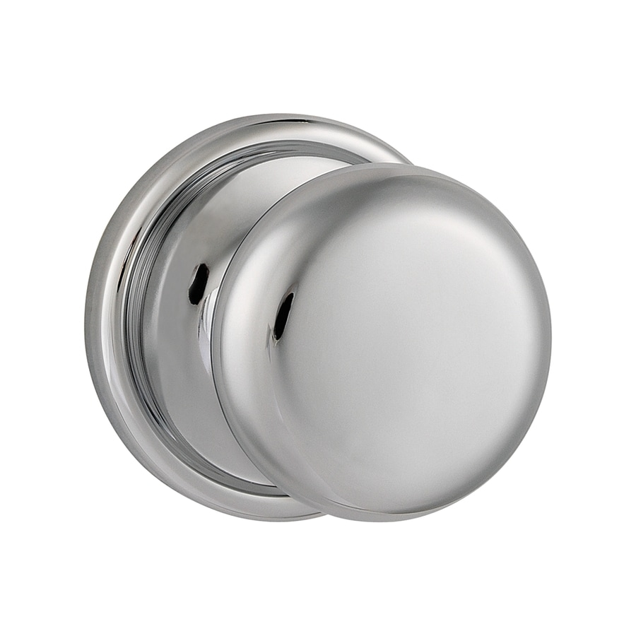 Kwikset Signature Hancock Polished Chrome Round Passage Door Knob
