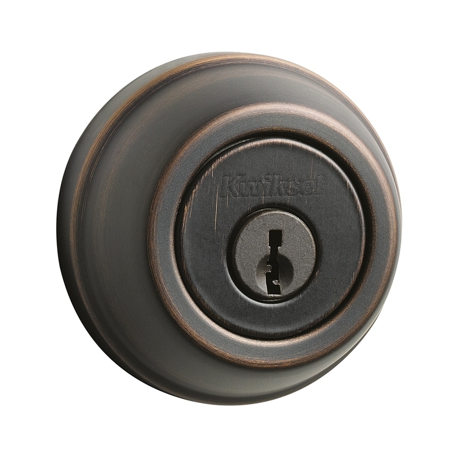 Kwikset Signature 780 Venetian Bronze Single-Cylinder Deadbolt