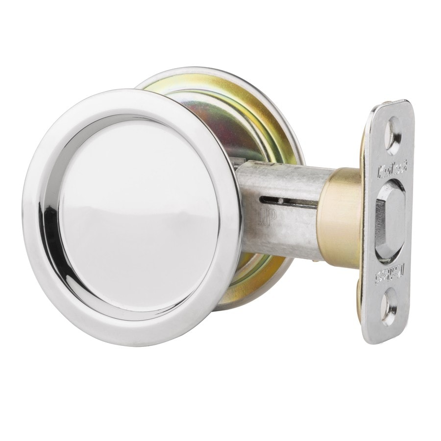 Shop Kwikset 203 In Stainless Steel Pocket Door Pull At Lowes