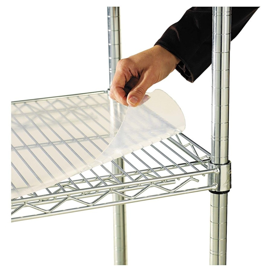 Shop Alera 48-in x 2-ft Clear Shelf Liner at Lowes.com