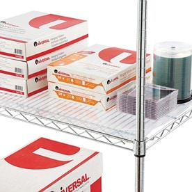 Alera 48 In X 2 Ft Clear Shelf Liner At Lowes Com