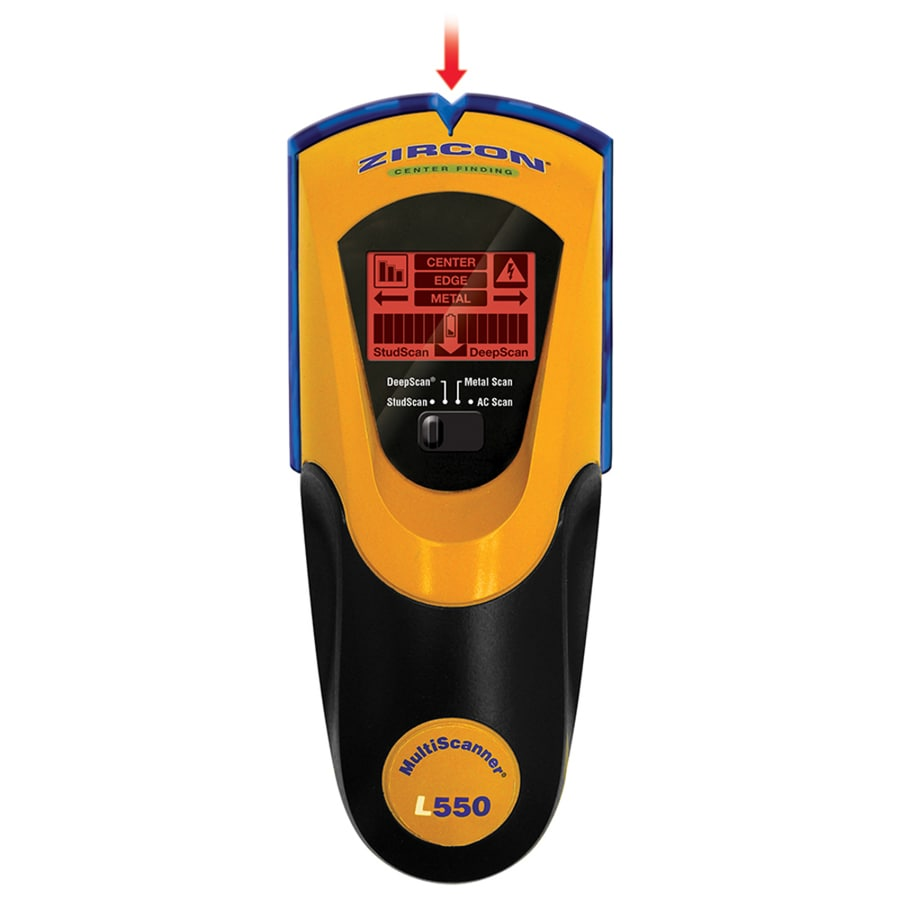 Zircon 15 In Scan Depth Pp3 9v Metal And Wood Stud Finder At Wiring Through Studs