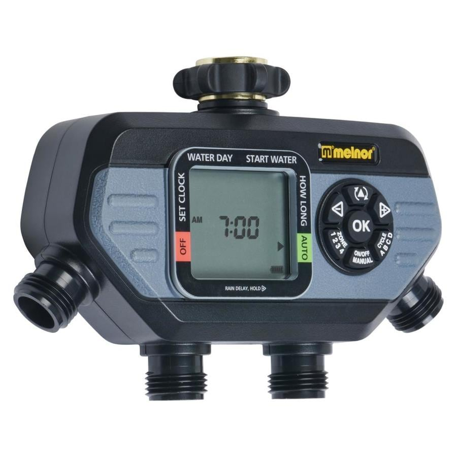 Melnor HydroLogic 4-Zone Timer at Lowes com