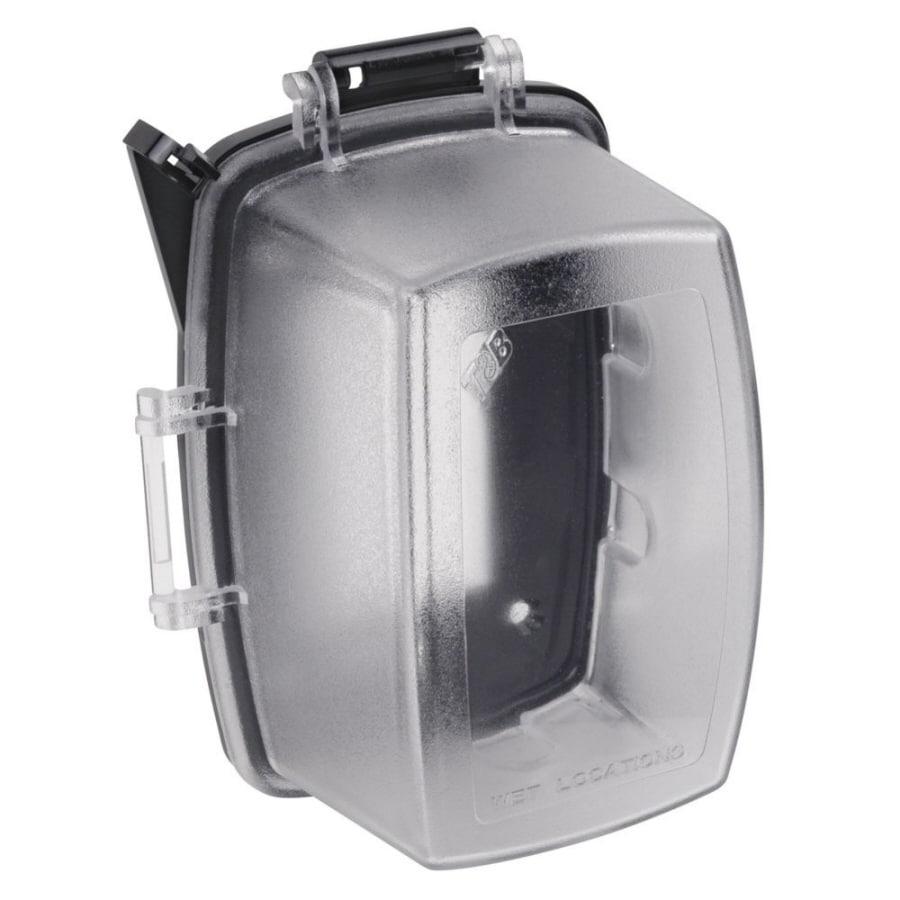 Plastic Weatherproof Electrical Boxes: REDDOT 1-Gang Rectangle Plastic Weatherproof Electrical