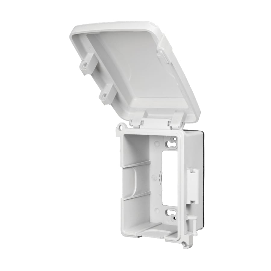 REDDOT 1-Gang Rectangle Plastic Weatherproof Electrical Box Cover