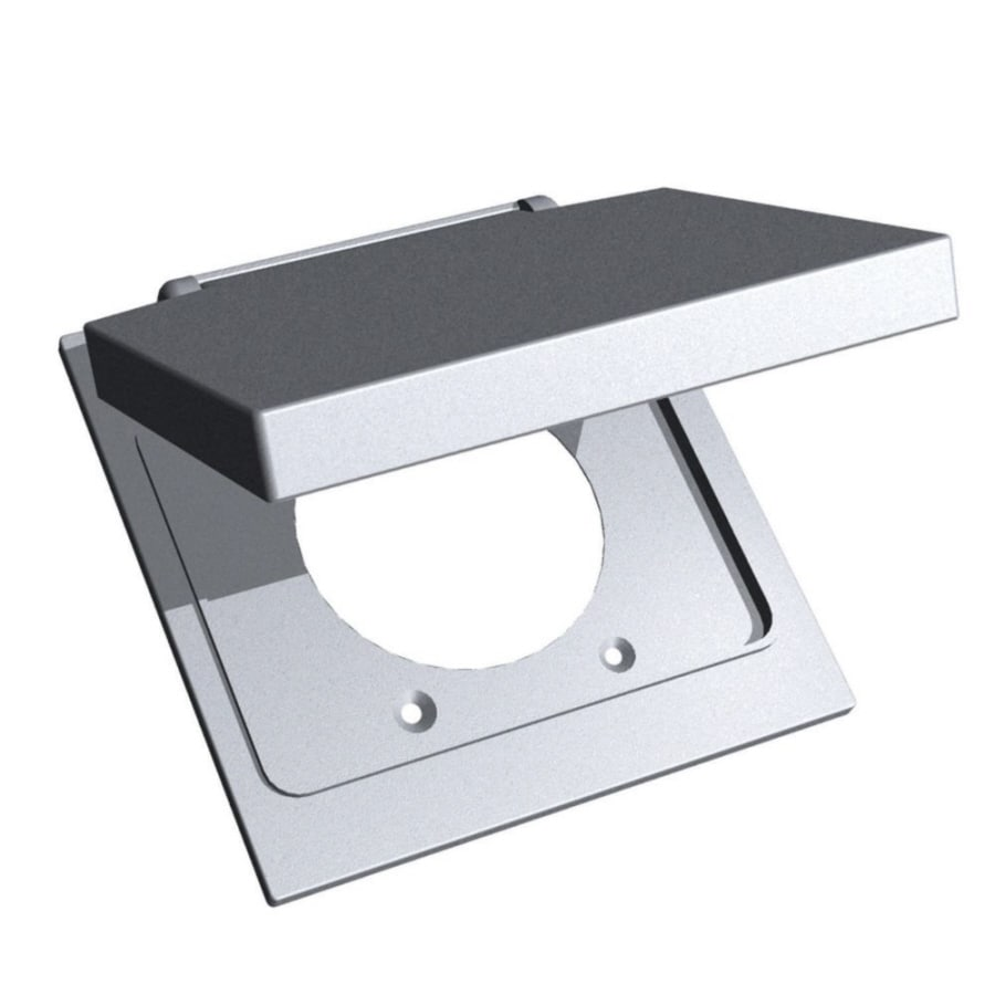 REDDOT 2-Gang Square Plastic Weatherproof Electrical Box Cover