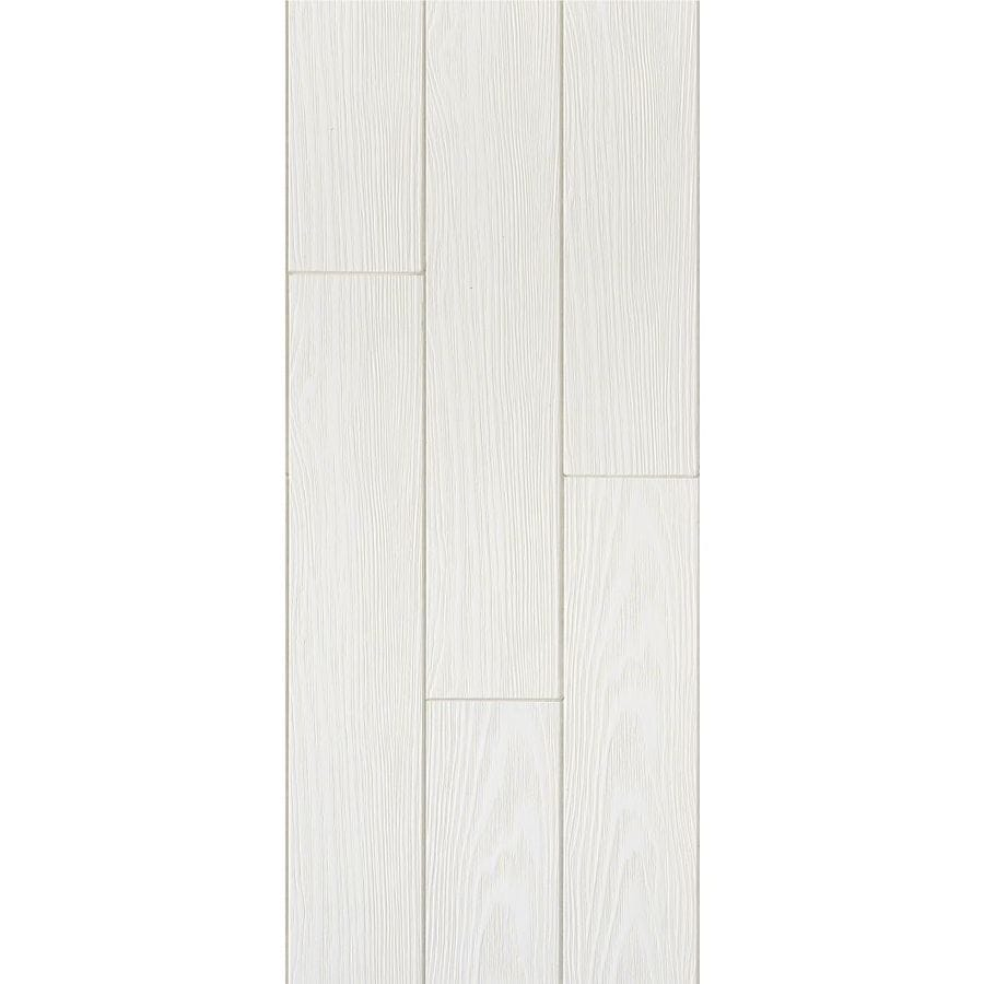 Armstrong Ceilings Common: 48-in x 6-in; Actual: 48.672-in x 6.682-in) Homestyle Country Classic 20-Pack White Faux Wood Surface-Mount Acoustic Plank Ceiling Tiles