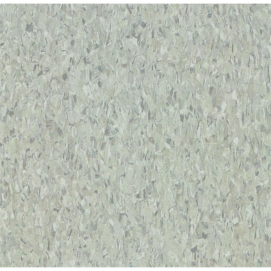 Armstrong Imperial Texture 45-Piece 12-in x 12-in Pewter Glue-Down Speckle Commercial VCT Tile