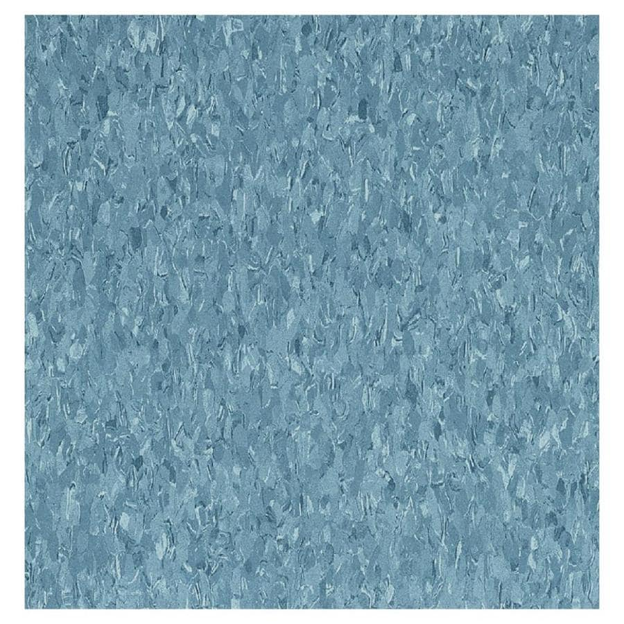 Armstrong Flooring Imperial Texture 45-Piece 12-in x 12-in Dutch Delft Glue-Down Chip Commercial VCT Tile