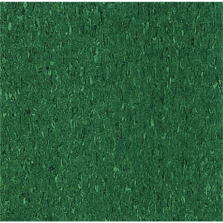 Armstrong Flooring Imperial Texture 45-Piece 12-in x 12-in Basil Green Glue-Down Chip Commercial VCT Tile