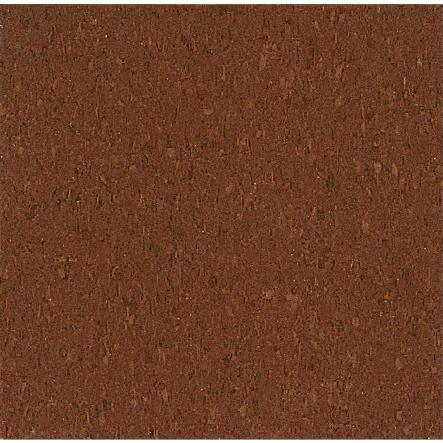 Armstrong Flooring Imperial Texture 45-Piece 12-in x 12-in Cinnamon Brown Glue-Down Chip Commercial VCT Tile