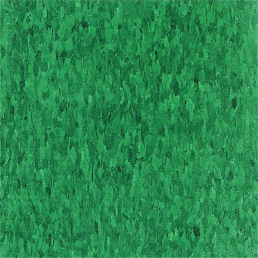 Armstrong Flooring Imperial Texture 45-Piece 12-in x 12-in Sea Green Glue-Down Speckle Commercial VCT Tile
