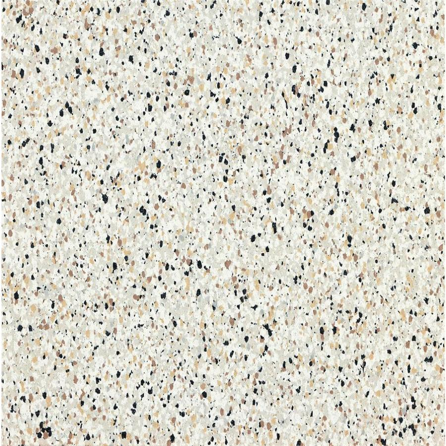 Armstrong Flooring Safety Zone 45-Piece 12-in x 12-in Stone Beige Glue (Adhesive) Speckle Commercial VCT Tile