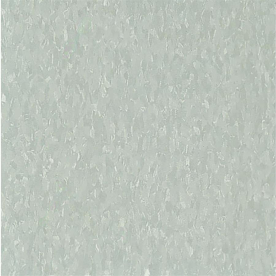 Armstrong Flooring Imperial Texture 45-Piece 12-in x 12-in Soft Warm Gray Glue-Down Chip Commercial VCT Tile