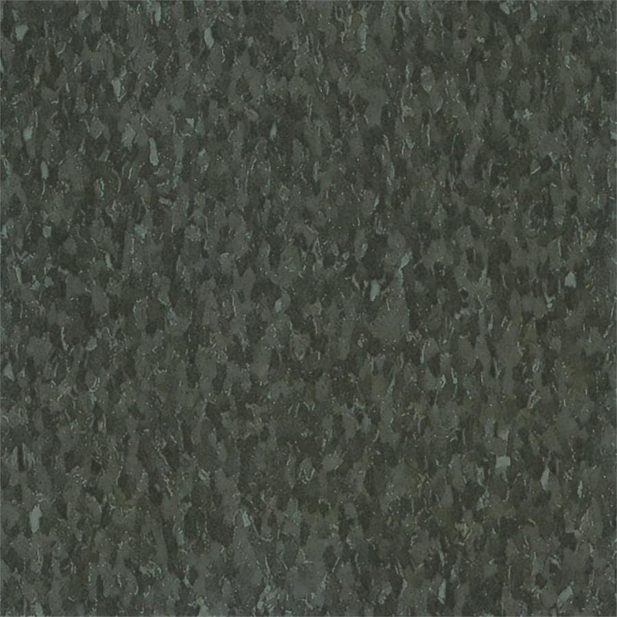 Armstrong Flooring Imperial Texture 45-Piece 12-in x 12-in Smokey Brown Glue (Adhesive) Chip Commercial VCT Tile