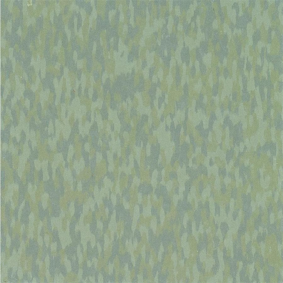 Armstrong Flooring SDT 45-Piece 12-in x 12-in Moss Green Glue (Adhesive) Chip Commercial VCT Tile