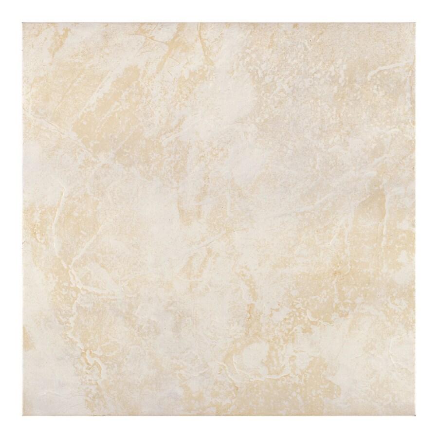 Shop Armstrong X Slate Neutral Glazed Ceramic Tile At Lowescom - 13x13 tile lowes