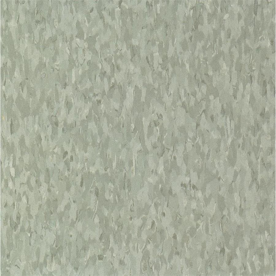 Armstrong Flooring Imperial Texture 45-Piece 12-in x 12-in Earth Green Glue-Down Chip Commercial VCT Tile