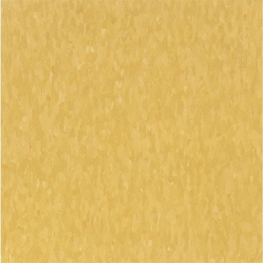 Armstrong Flooring Imperial Texture 45-Piece 12-in x 12-in Golden Glue (Adhesive) Chip Commercial VCT Tile