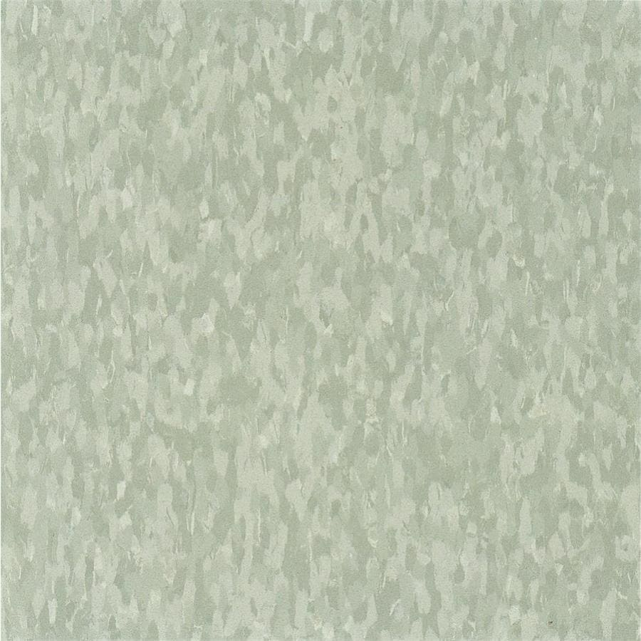 Armstrong Imperial Texture 45-Piece 12-in x 12-in Dusty Miller Glue-Down Chip Commercial VCT Tile