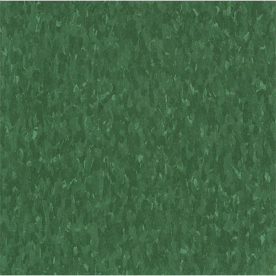 Armstrong Flooring Imperial Texture 45-Piece 12-in x 12-in Greenery Glue-Down Chip Commercial VCT Tile