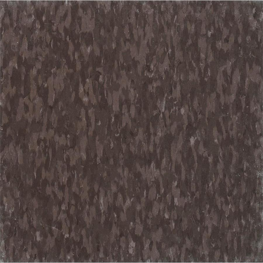 Armstrong Flooring Imperial Texture 45-Piece 12-in x 12-in Purple Brown Glue (Adhesive) Chip Commercial VCT Tile