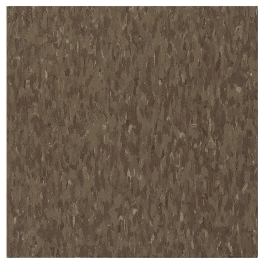 Shop vct tile at lowes armstrong flooring imperial texture 45 piece 12 in x 12 in chocolate glue dailygadgetfo Image collections