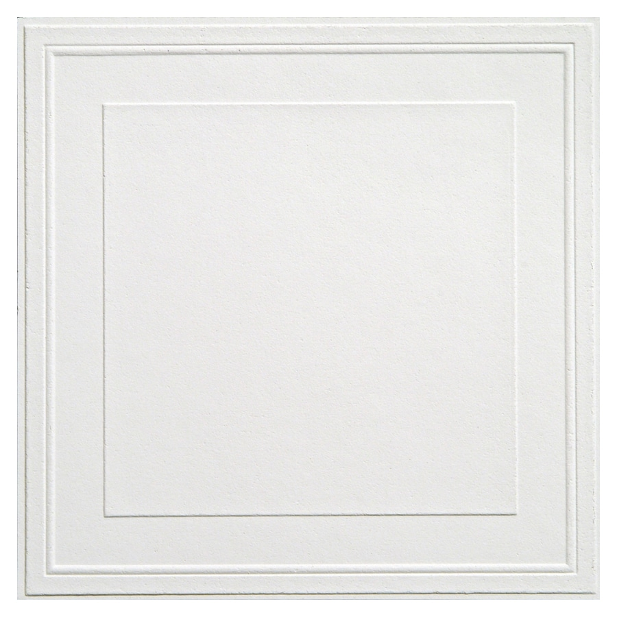 Armstrong 12 X Tin Look Raised Panel Ceiling Tile