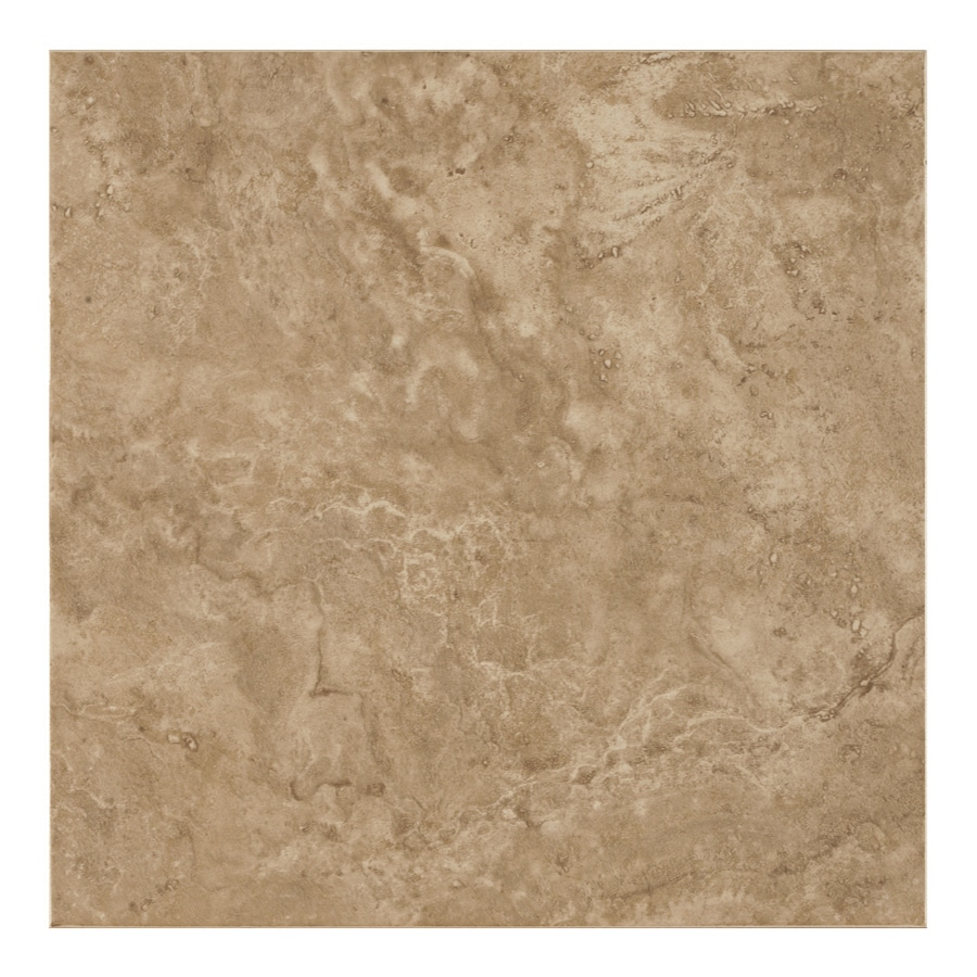 Shop Armstrong 18 X 18 Camino Noche Glazed Ceramic Tile At Lowes