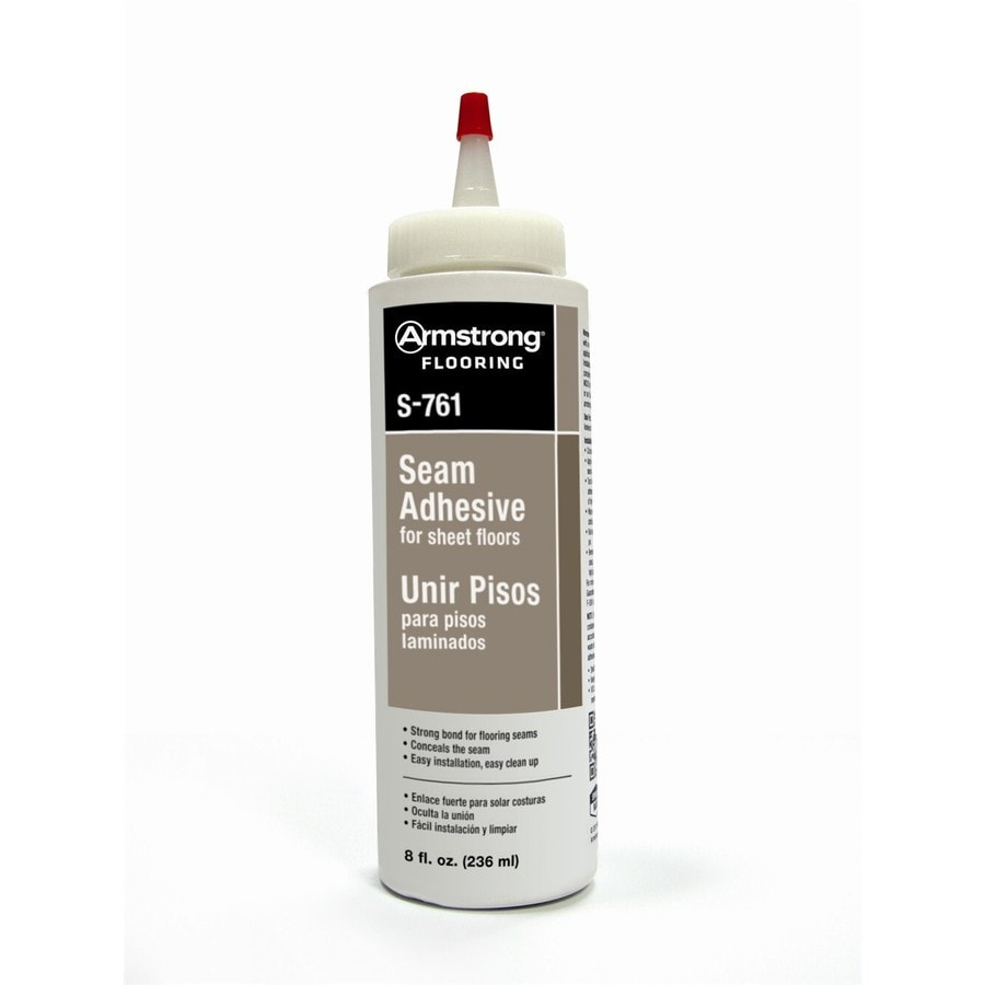 Armstrong White Sheet Vinyl Flooring Adhesive (Actual Net Contents: 8-fl oz)