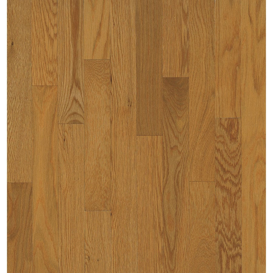 Shop bruce oak hardwood flooring sample butterscotch at for Bruce hardwood flooring
