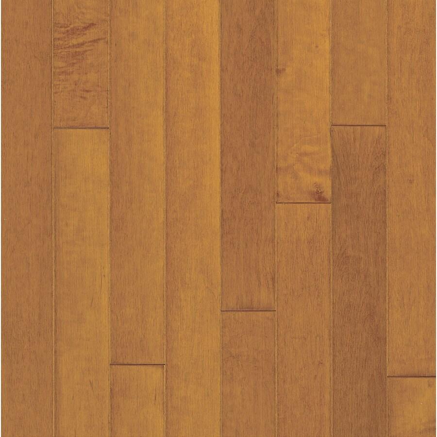 Bruce Locking Smooth Face Russet/Cinnamon Maple Hardwood Flooring (22-sq ft)