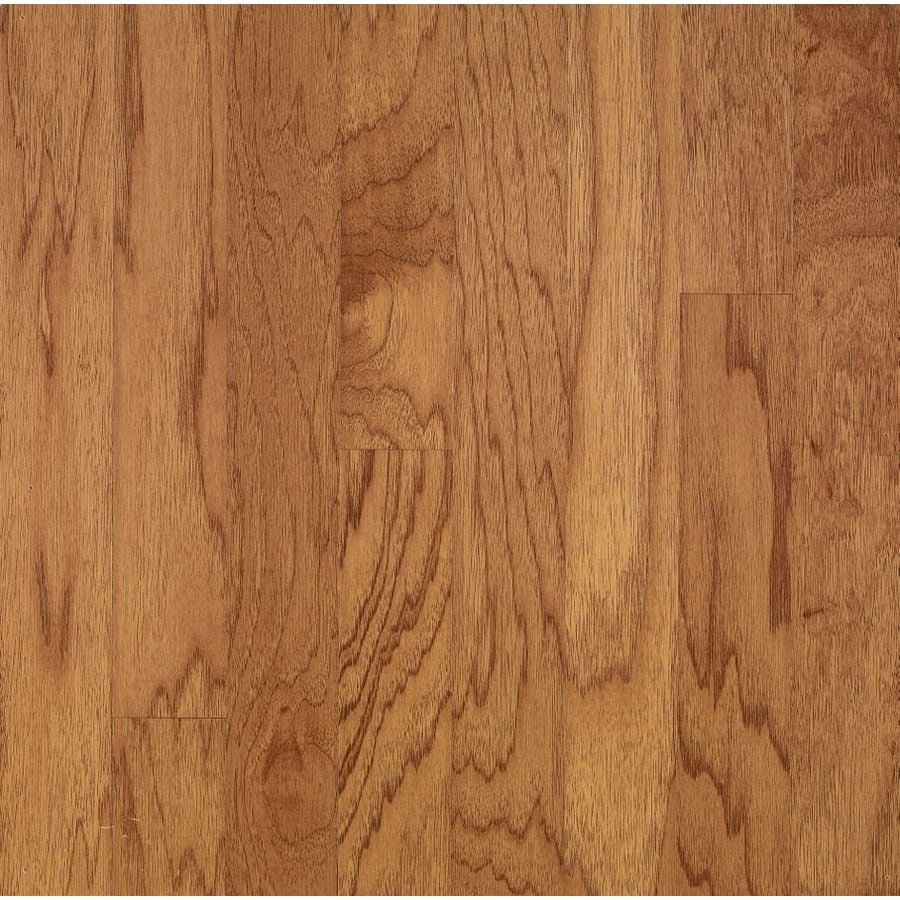 Bruce Turlington Lock&Fold 3-in Golden Spice Engineered Hickory Hardwood Flooring (22-sq ft)
