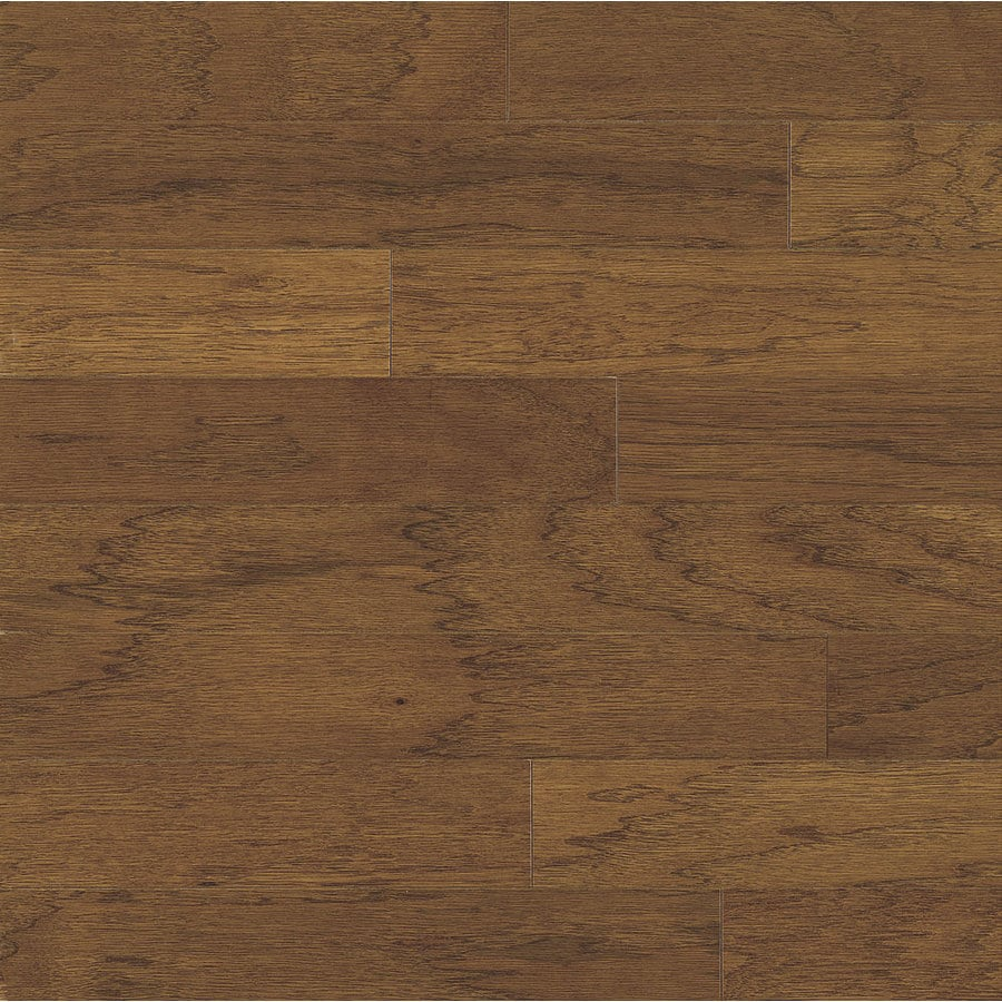 Bruce Locking Smooth Face Falcon Brown Hickory Hardwood Flooring (22-sq ft)